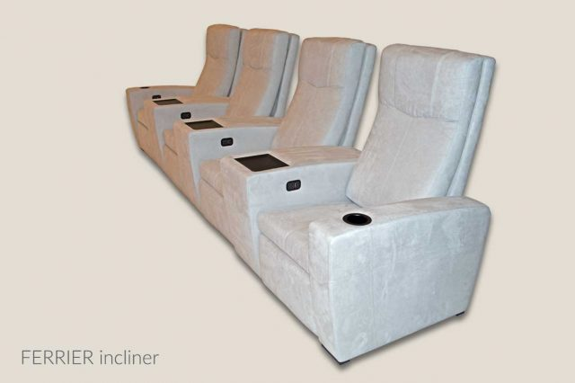 Home theater seat Ferrier
