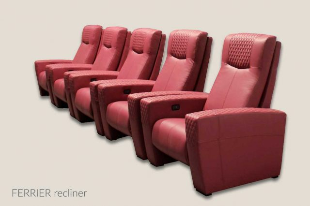 Ferrier home theater seat
