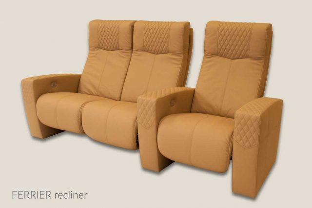 Ferrier model Cineak single and love seat