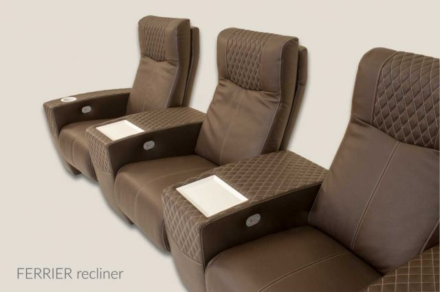Ferrier home cinema chair