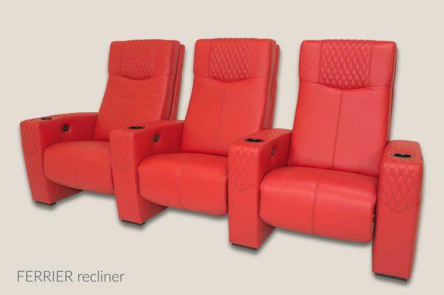 Cineak Ferrier model red
