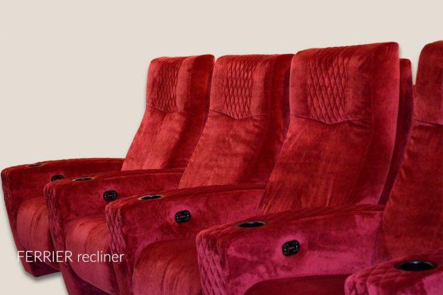 Ferrier model Cineak sultan upholstery