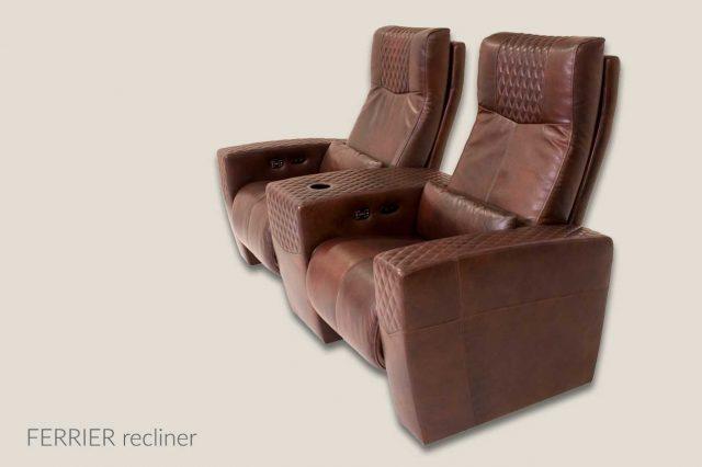 Ferrier model Cineak dual seat wide arm