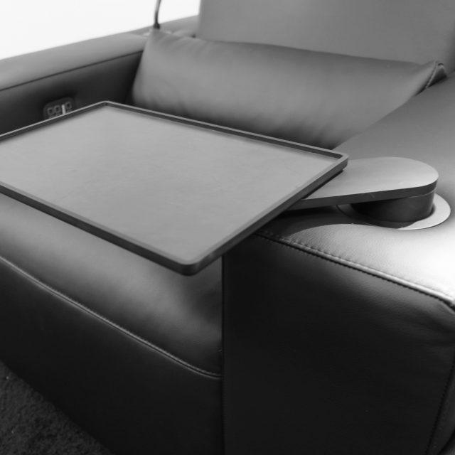 rotating table cinema seat