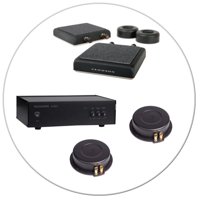 Tactile transducers & DBOX actuators