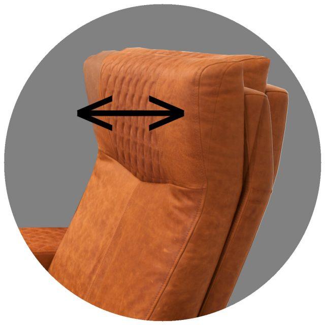 Motorised headrest