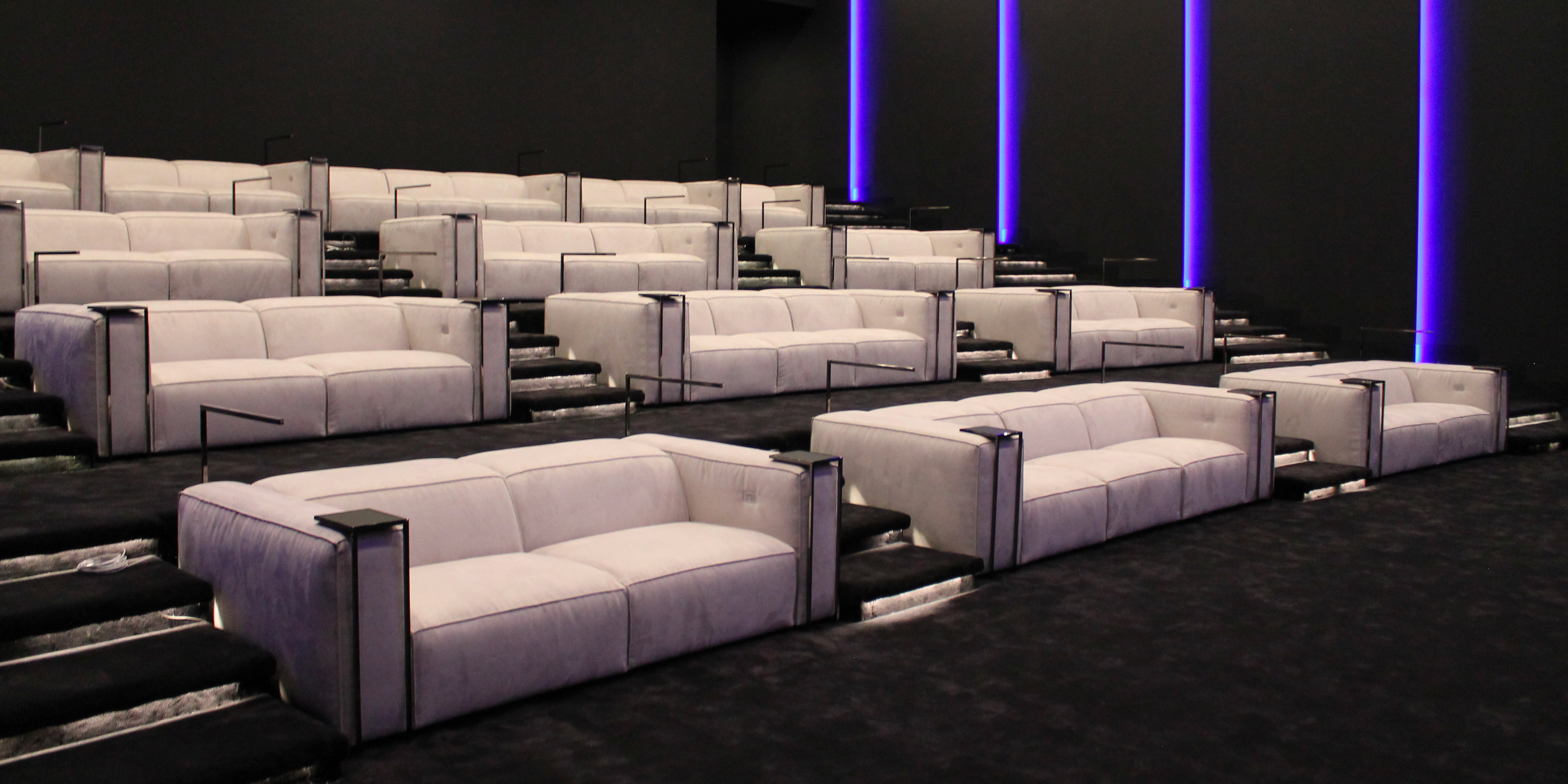 Gramercy Luxury theater, the one Los angeles