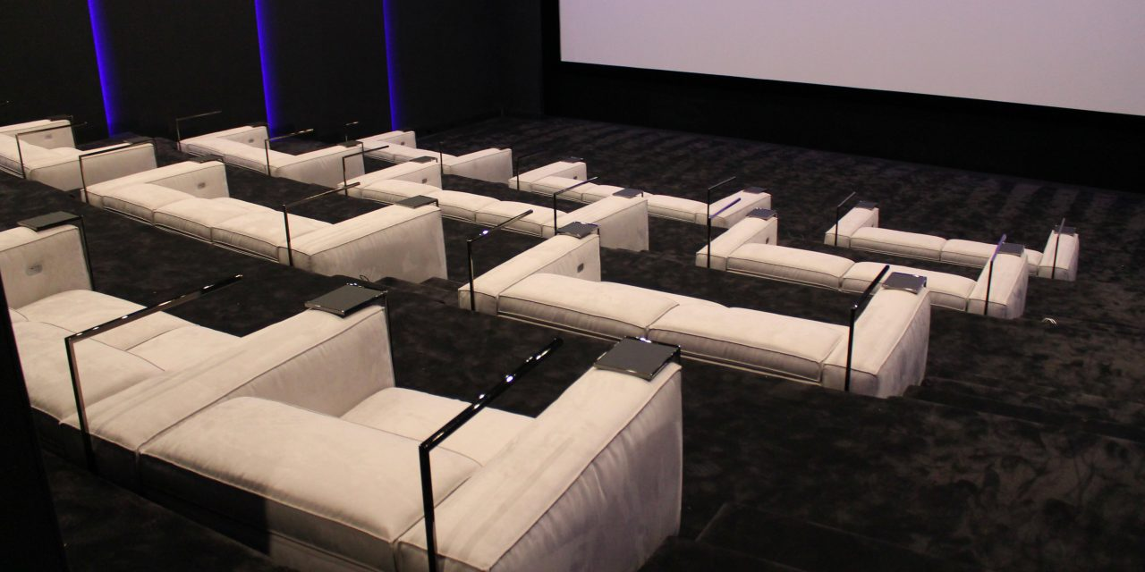 GRAMERCY sofa, luxury cinema, the one Los Angeles