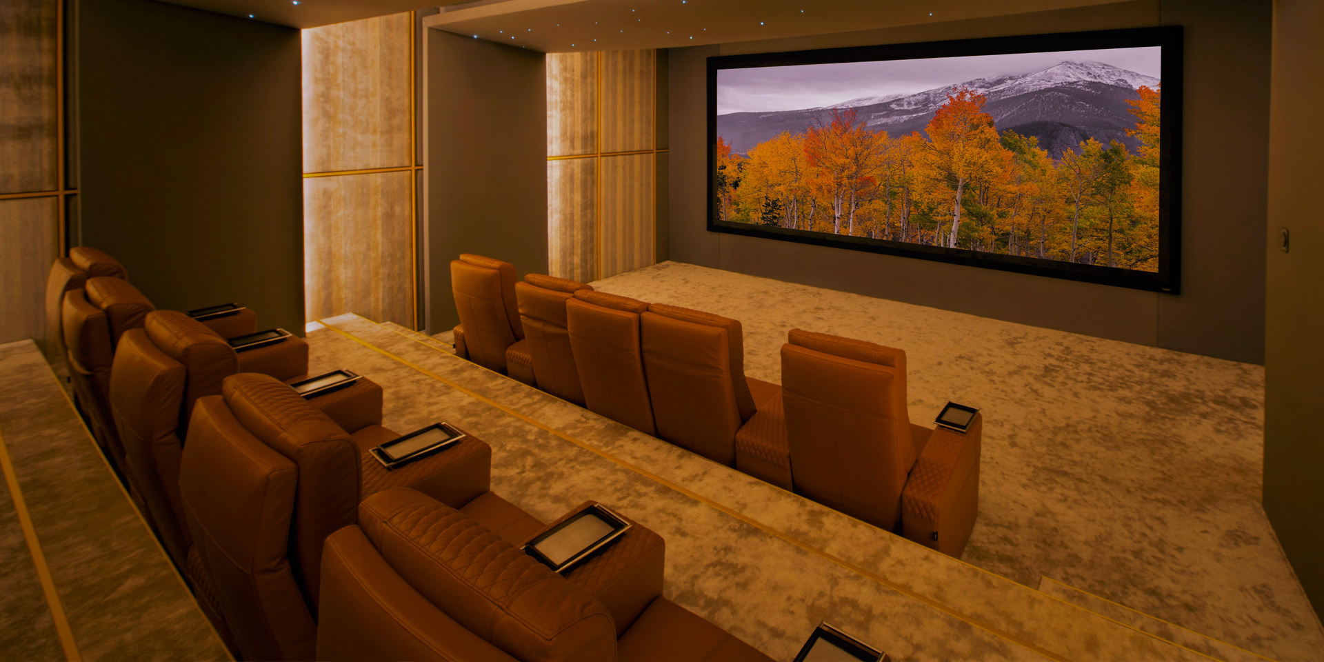 Home Theater cineak cinema ferrier seat modern