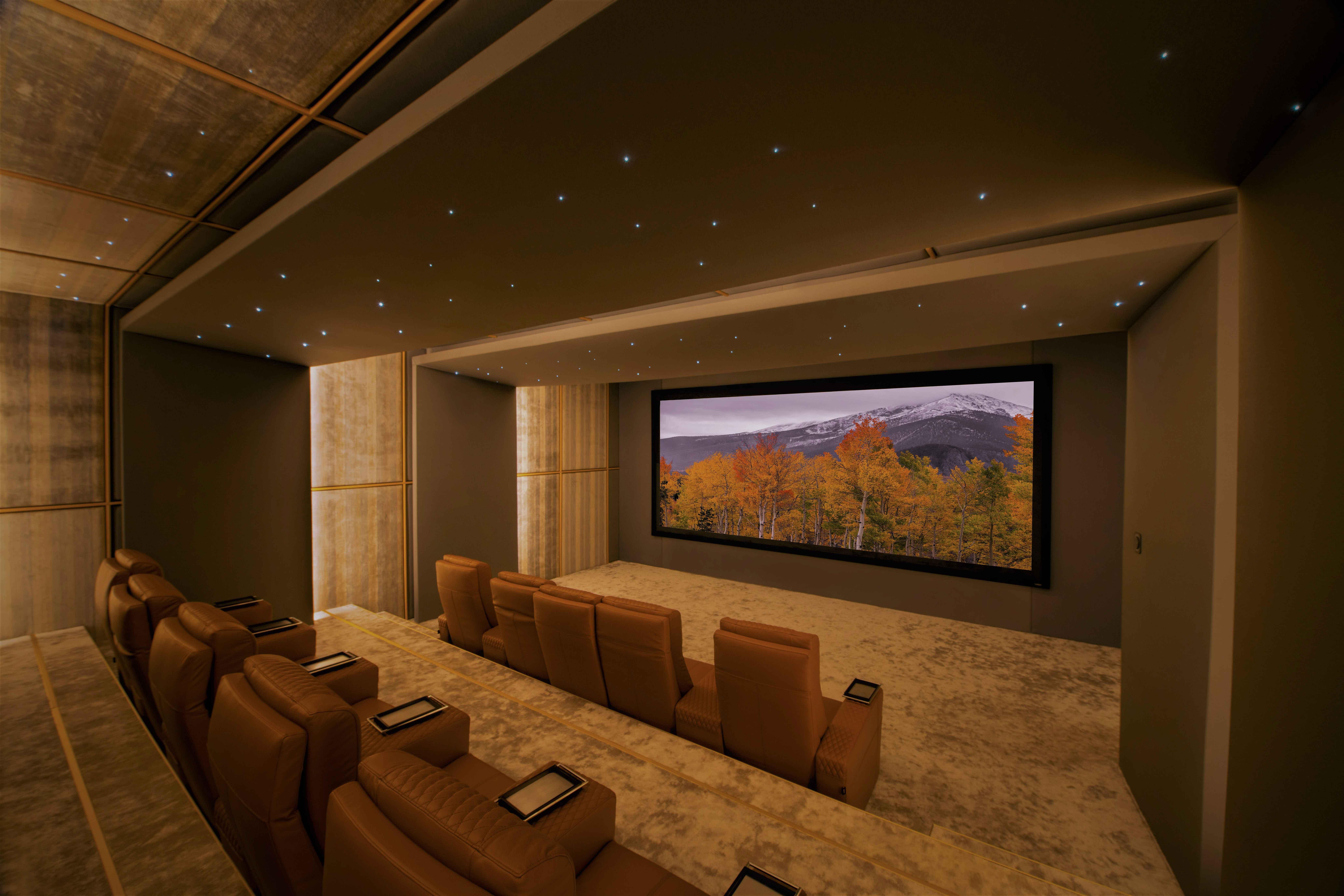 Home Theater ferrier seat cinema modern