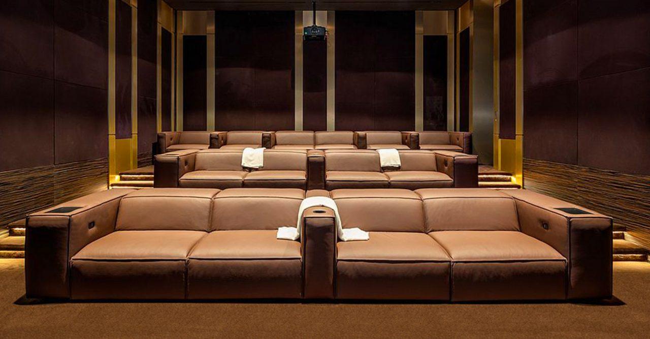 Gramercy - luxury home cinema theater - modern - @skylinedevelopmentla @centurionlv
