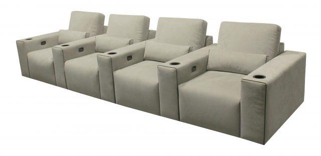 Largo Media room Cinema theater seat modern row
