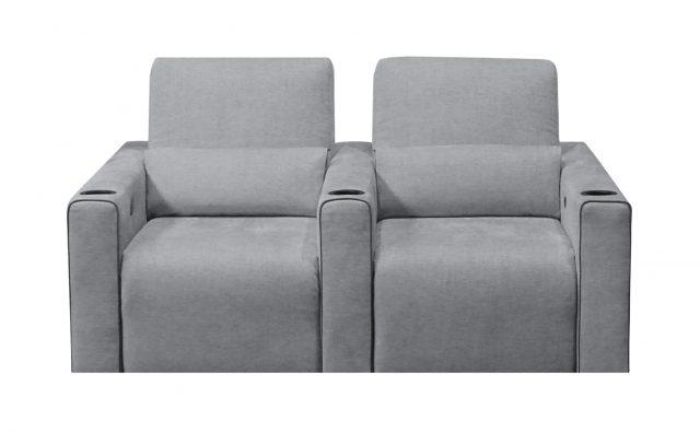 Largo Media room Cinema theater seat modern grey