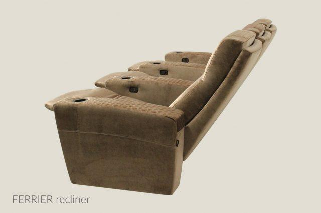 Ferrier model recliner Cineak