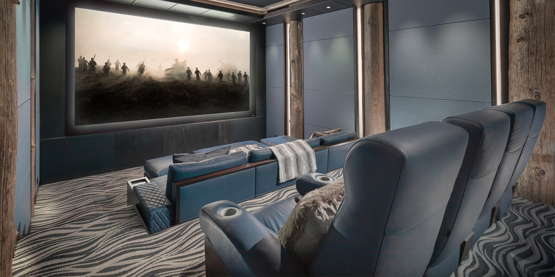 Cosymo & Fortuny Luxury home theater seating