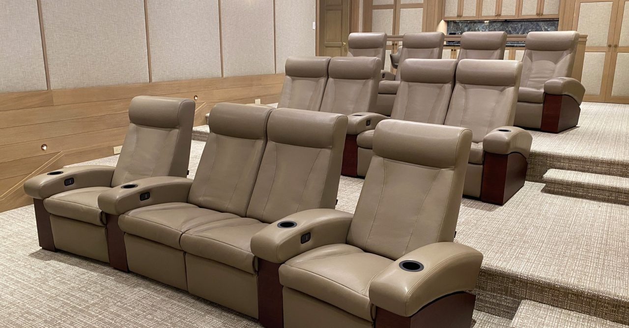 Fortuny luxury home theater seat