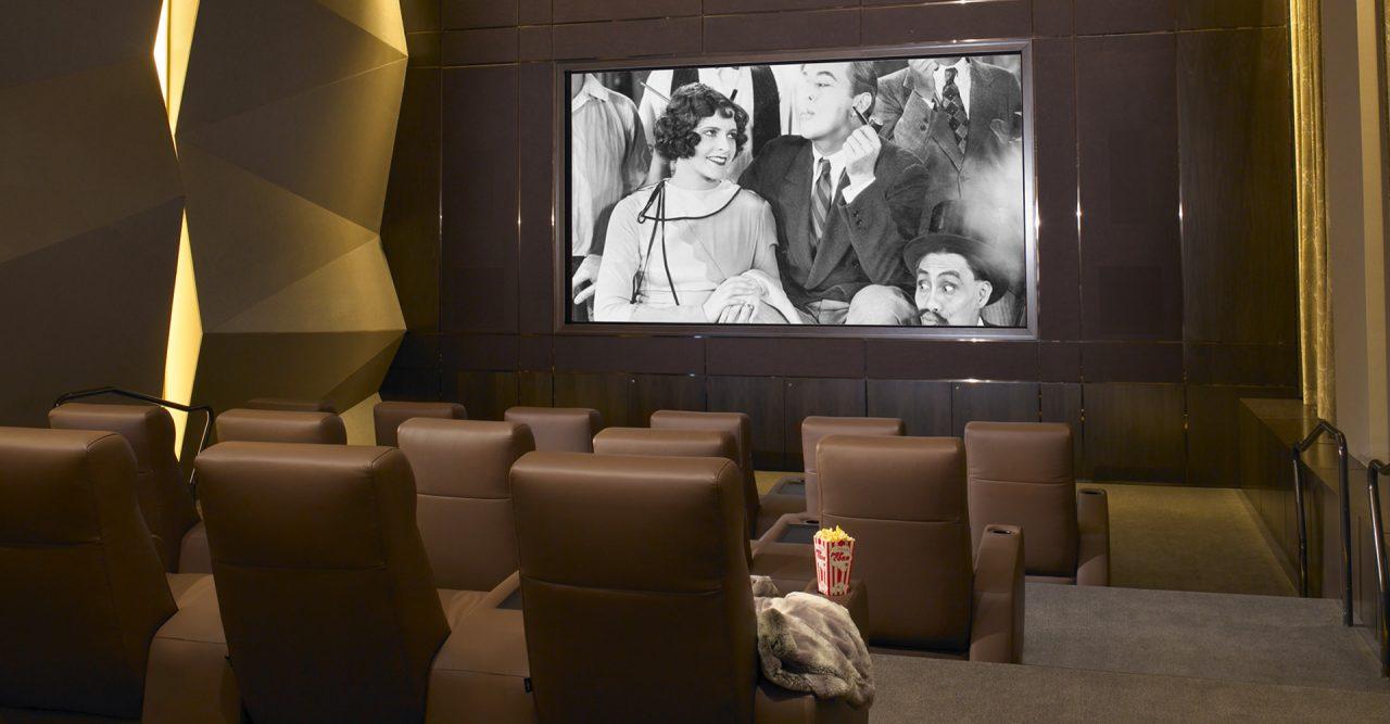 Nero Luxury home theater seating