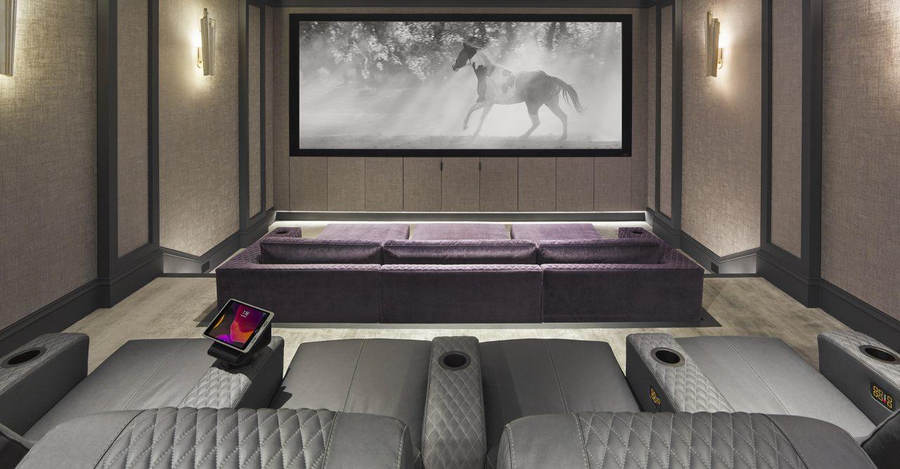 Home Cinema Seating - Luxury Ferrier incliner