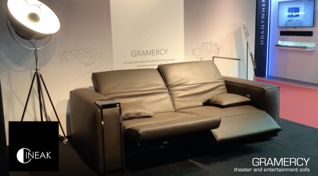 Gramercy automated luxury seating by Cineak