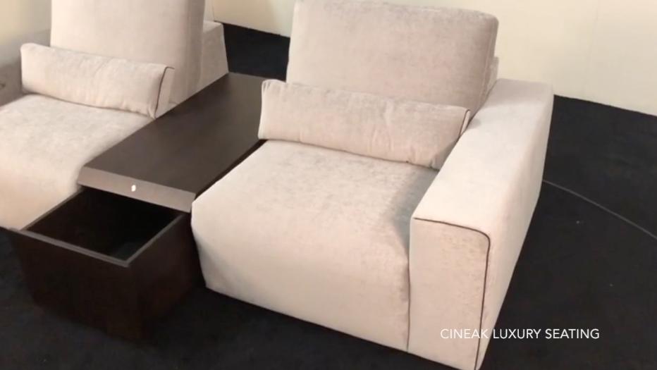 Largo motorised storage luxury theater accessories