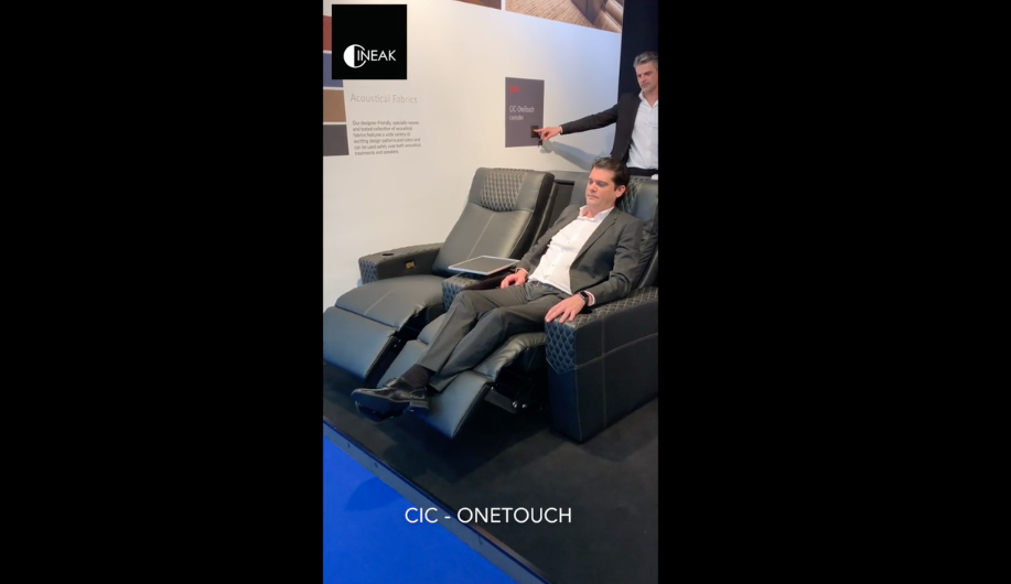 Cineak's One Touch controller for home theaters