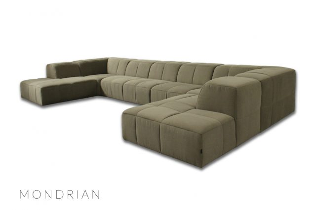 Mondrian motorised sofa luxury cinema seats by cineak