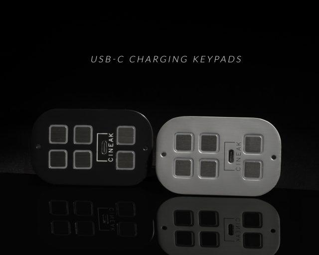 USB-C charging KEYPAD by Cineak