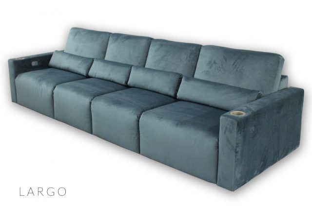Largo Seating by Cineak luxury cinema Living room