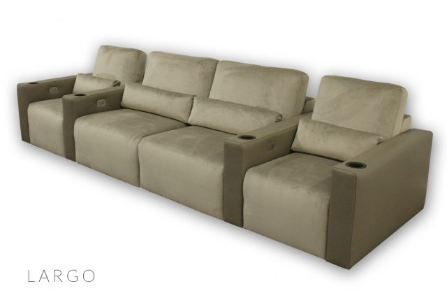 Largo Seating by Cineak luxury cinema Living room 2