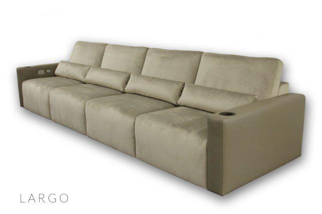 Largo Seating by Cineak luxury Living room